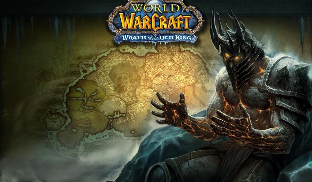 Arthas de World of Warcraft - 1024x600