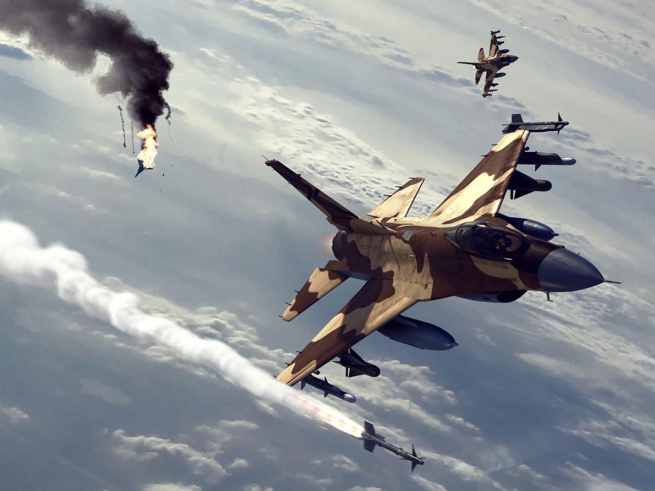Ataques de aviones - 1280x960