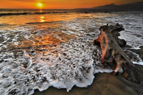 Atardecer en playas - 480x320