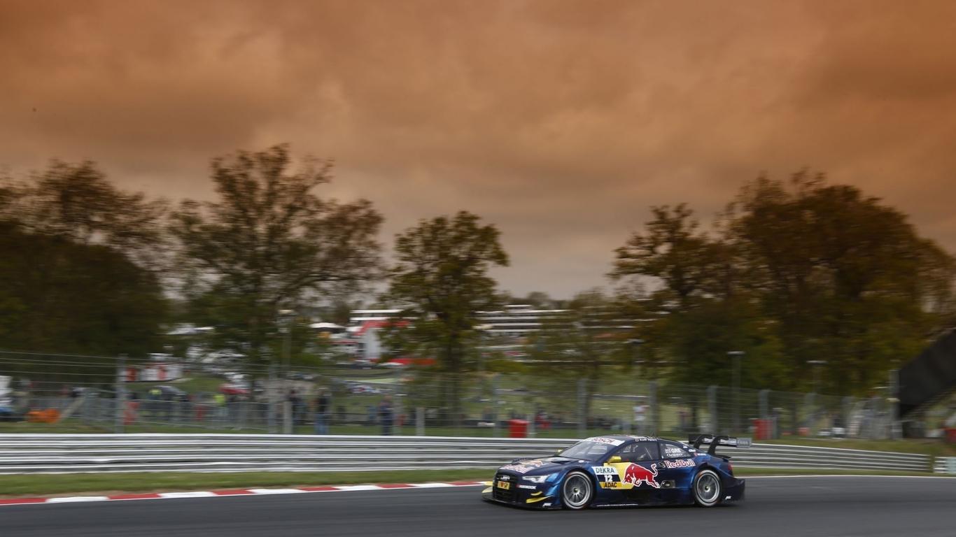 Audi racing - 1366x768