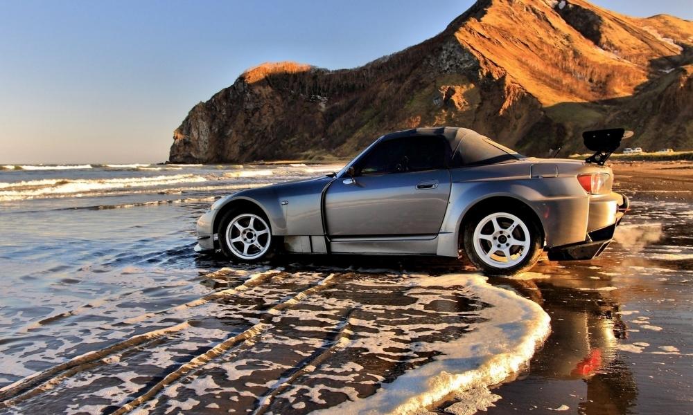 Wallpapers Hd Autos Fondos De Pantallas Hd: Auto En La Playa Hd 1000x600
