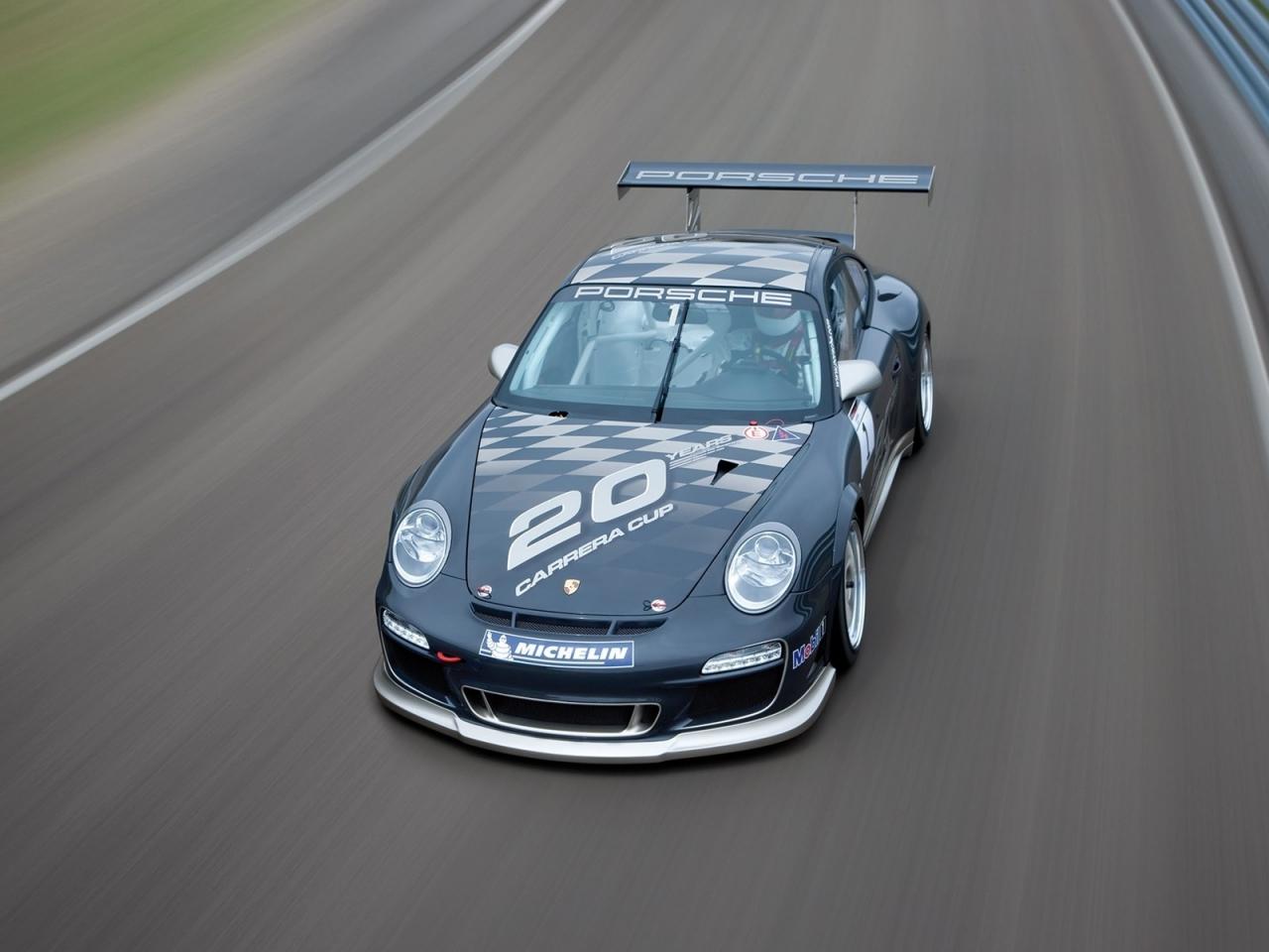 Auto Porsche negro - 1280x960