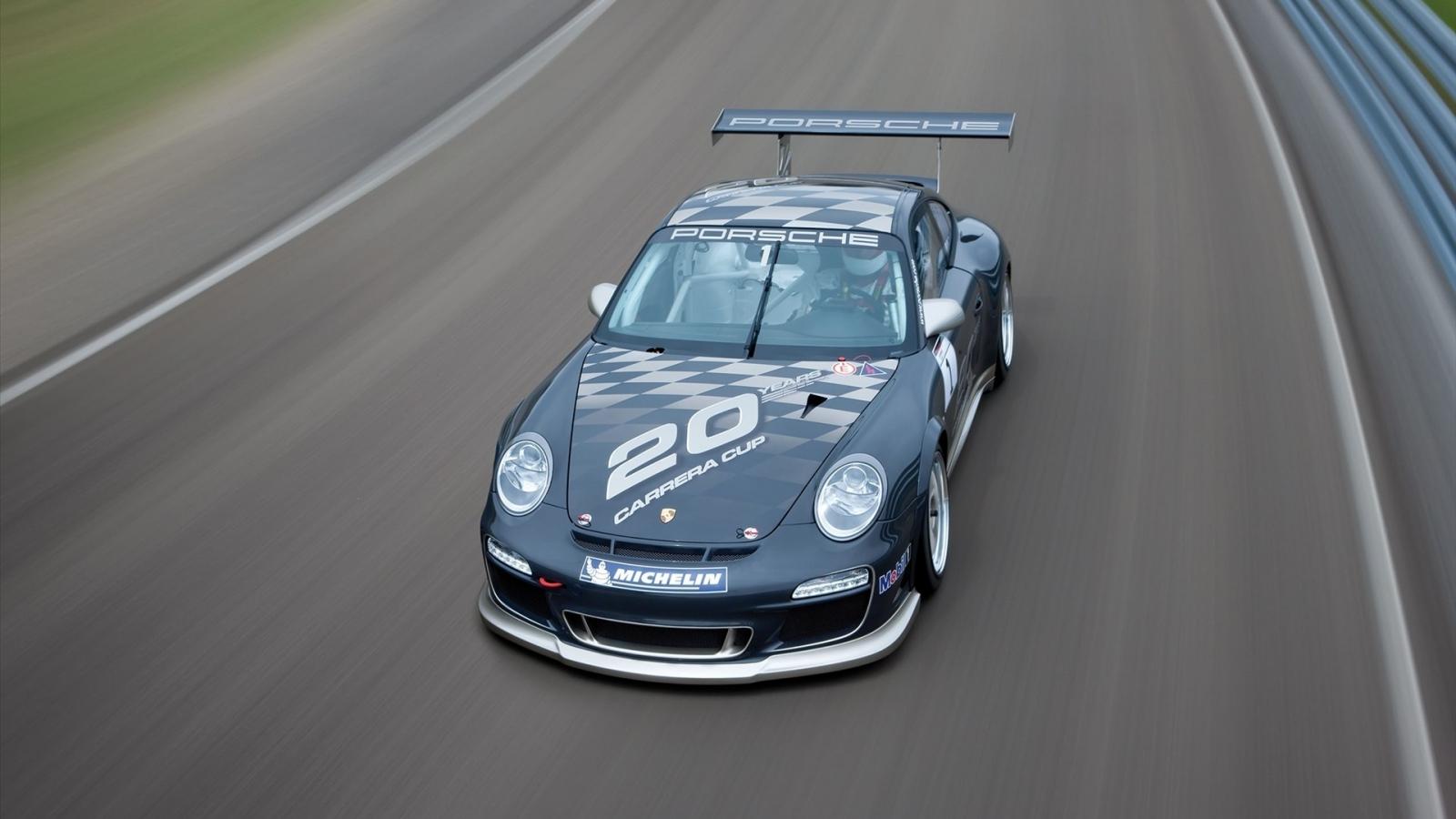 Fondos De Pantalla Vehículo Porsche Show De Net: Auto Porsche Negro Hd 1600x900