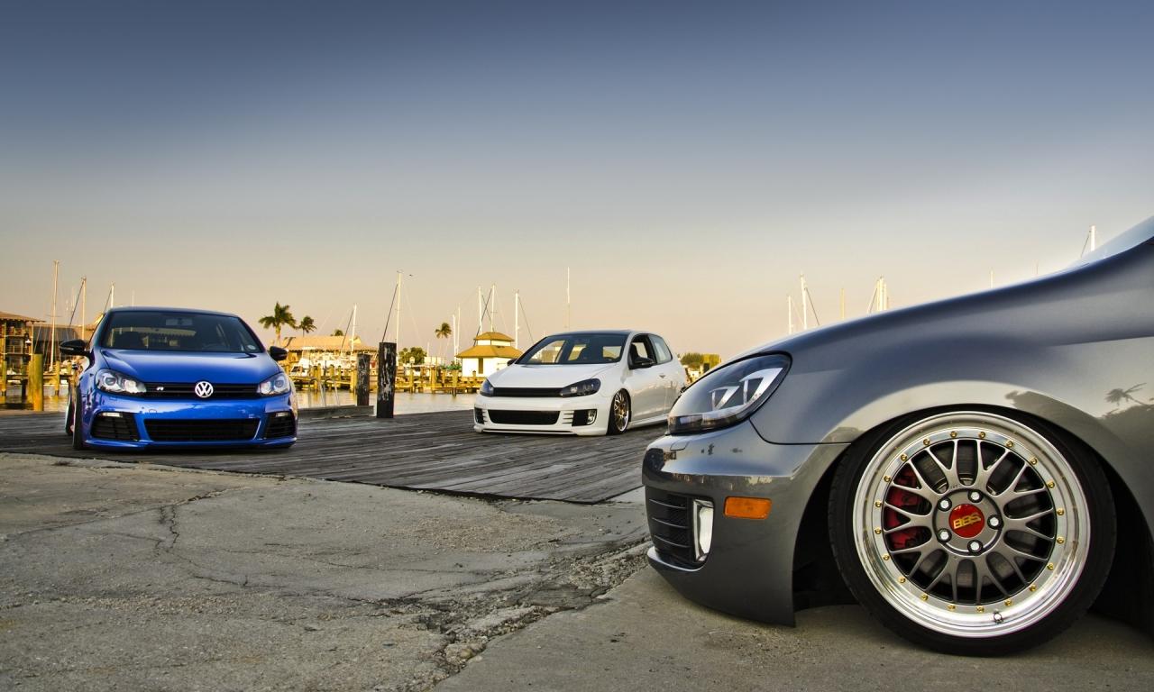 Wallpapers Hd Autos Fondos De Pantallas Hd: Autos Volkswagen Golf Hd 1280x768