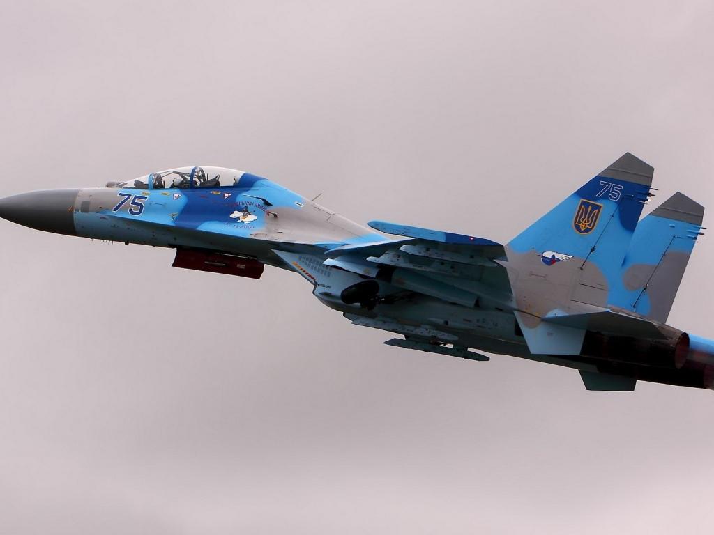 Avión militar - 1024x768