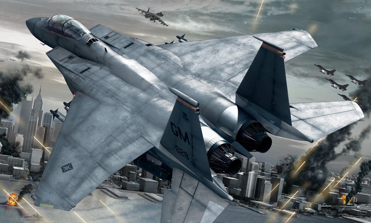 Aviones y videojuegos - 1280x768