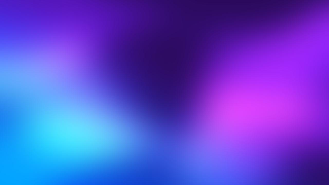 Azul abstracto - 1280x720