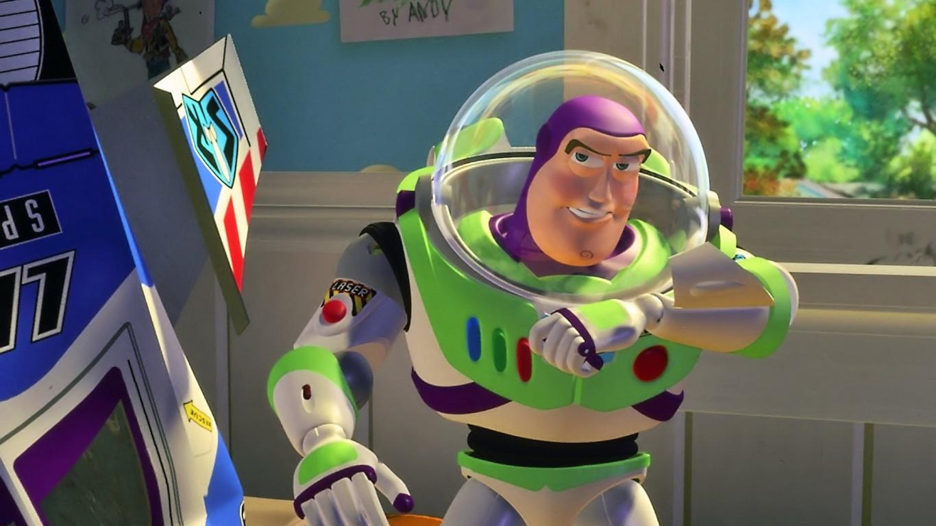 Buzz de Toy Story - 1366x768