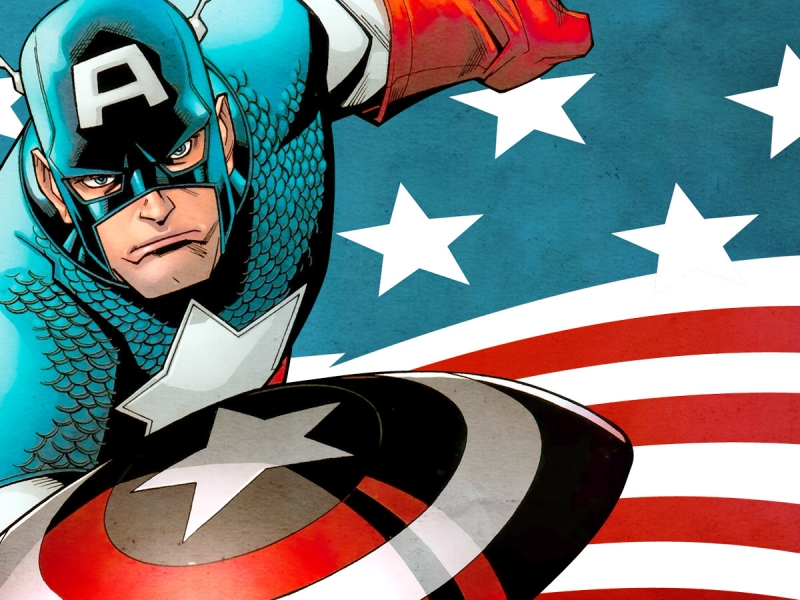 Capitán América Comic - 800x600