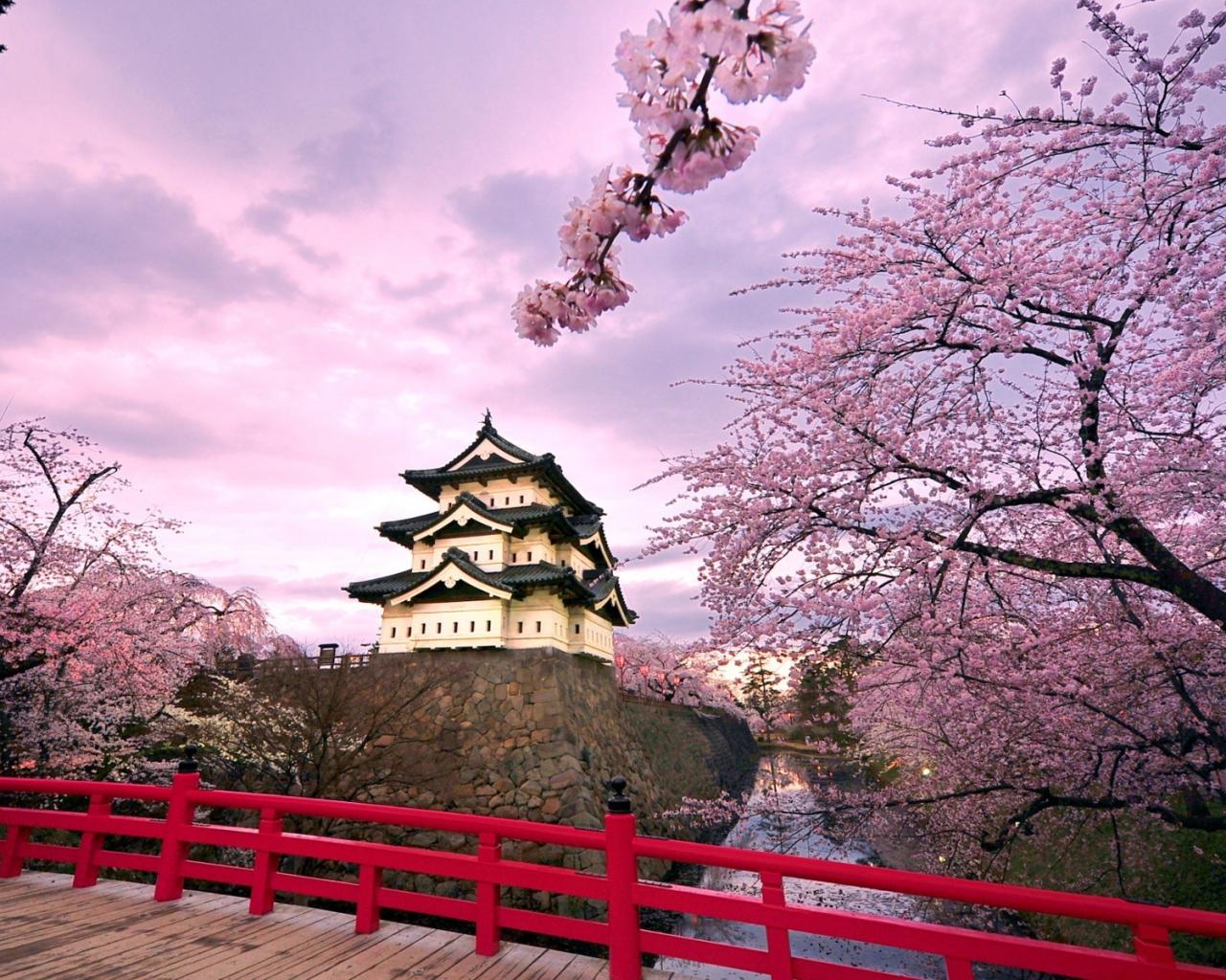 Castillo Japonés - 1280x1024