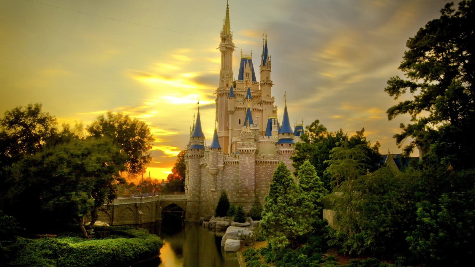 Castillos de princesas - 1600x900