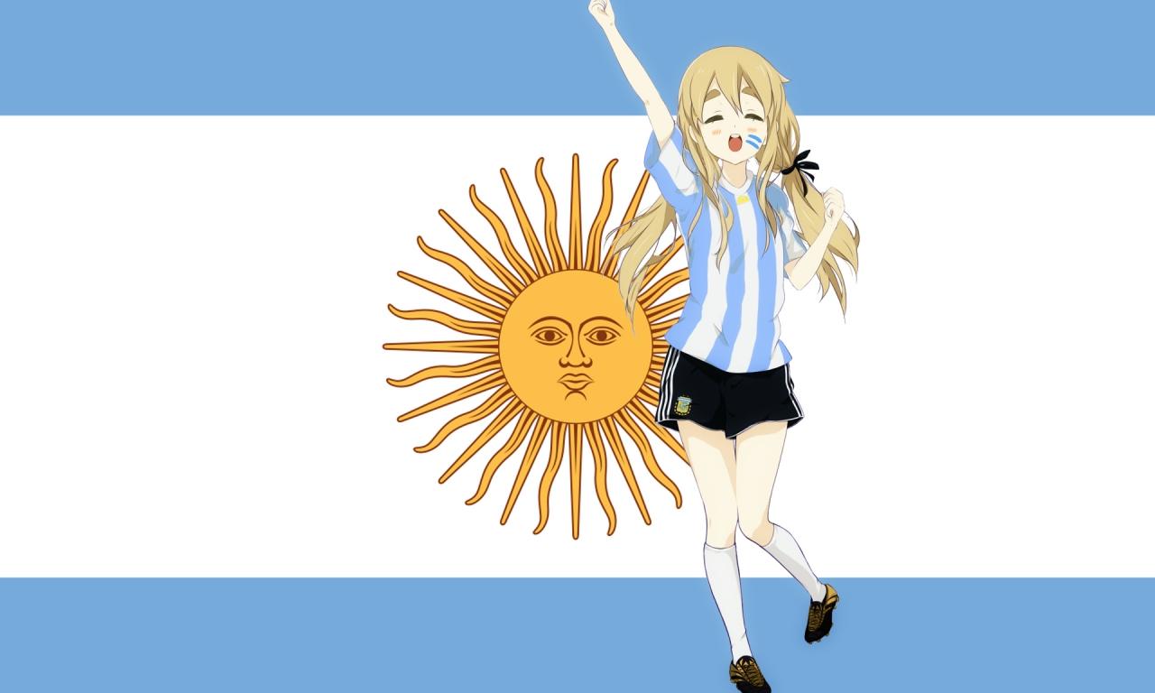 Chica K-ON de Argentina - 1280x768
