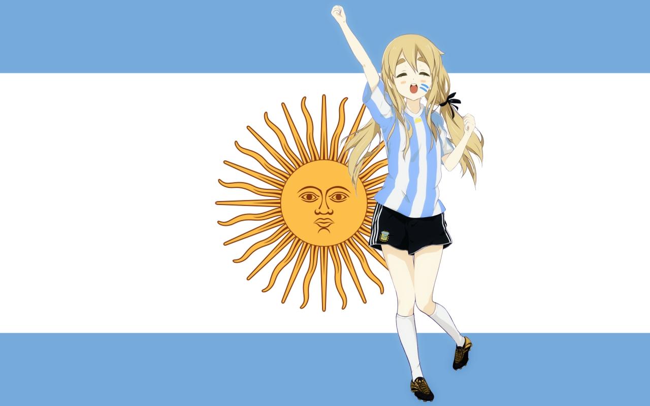 Chica K-ON de Argentina - 1280x800