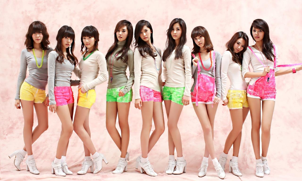 Chicas jovenes asiáticas - 1280x768