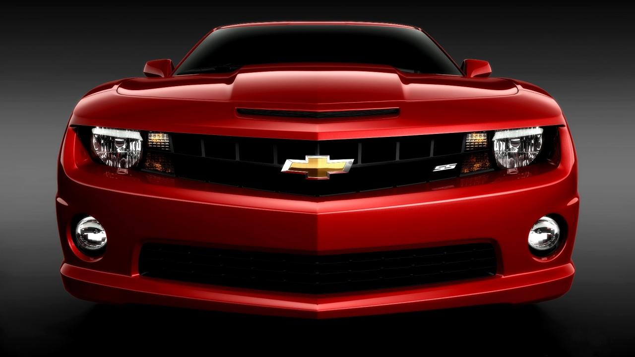 Chvrolet camaro rojo - 1280x720