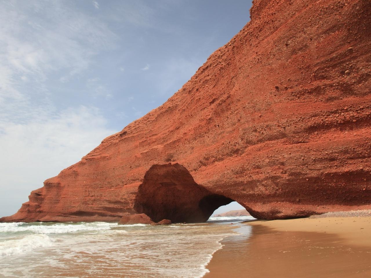 Cuevas en las playas - 1280x960