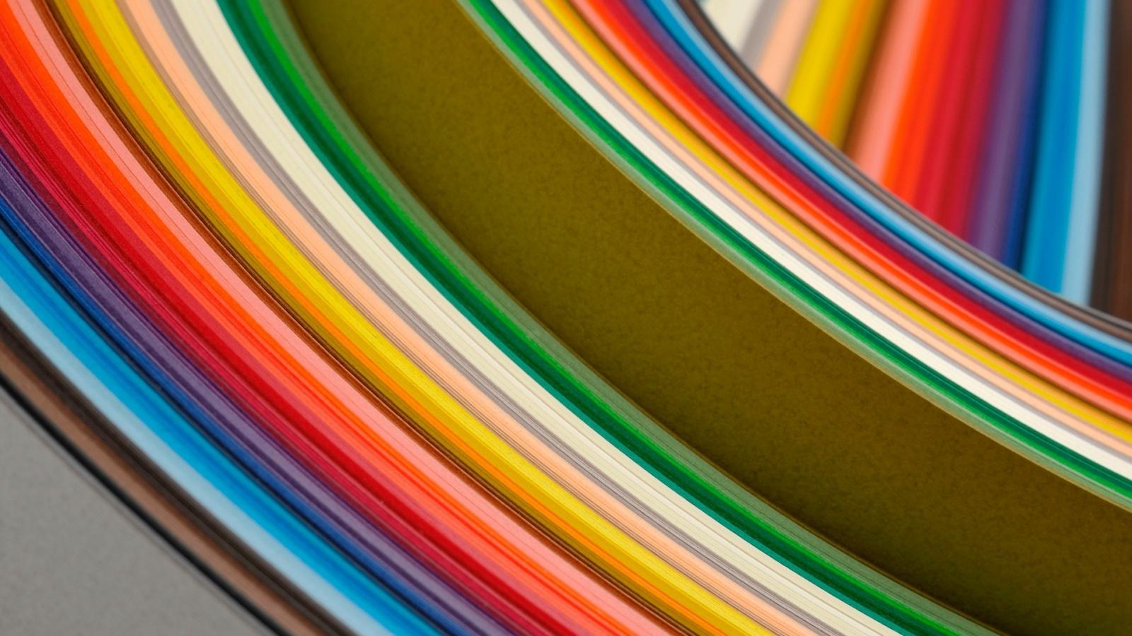 Curvas coloridas Windows 8 - 1600x900