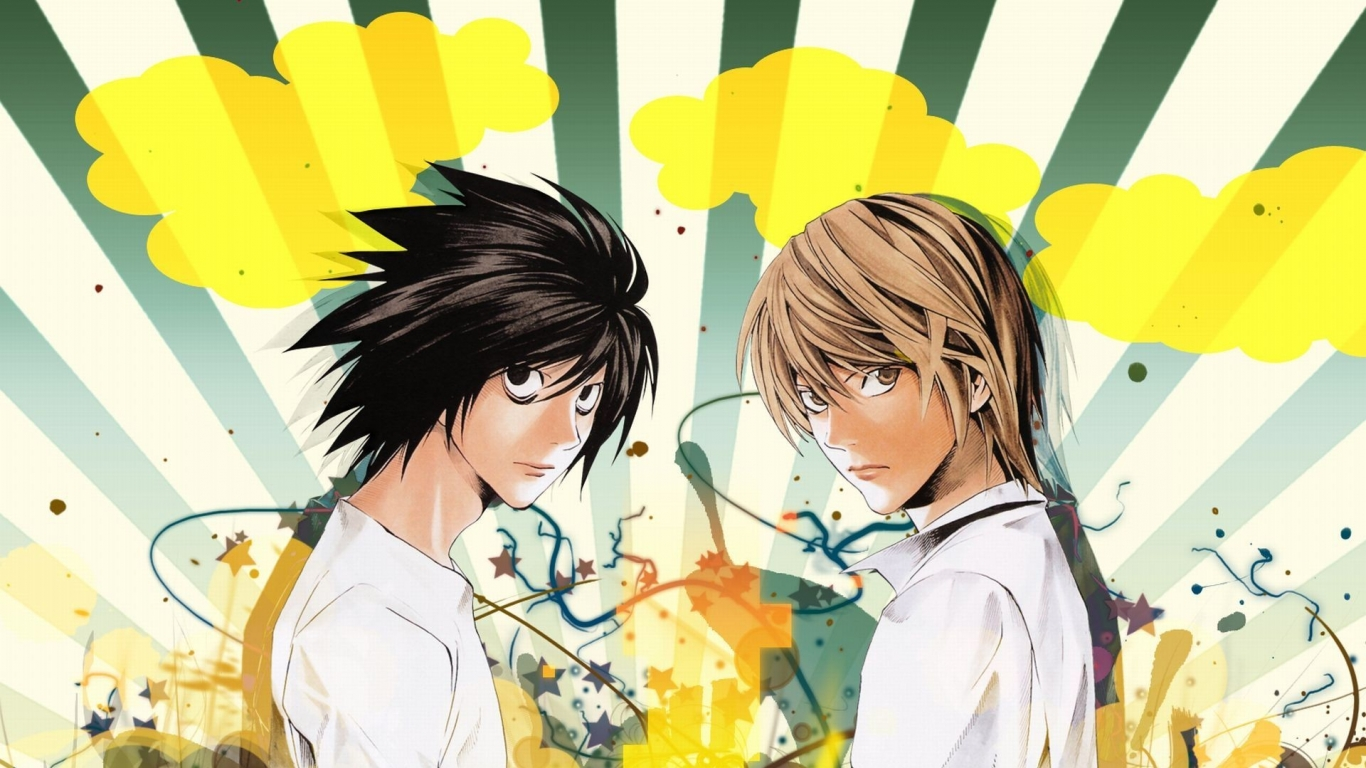 Death Note - 1366x768