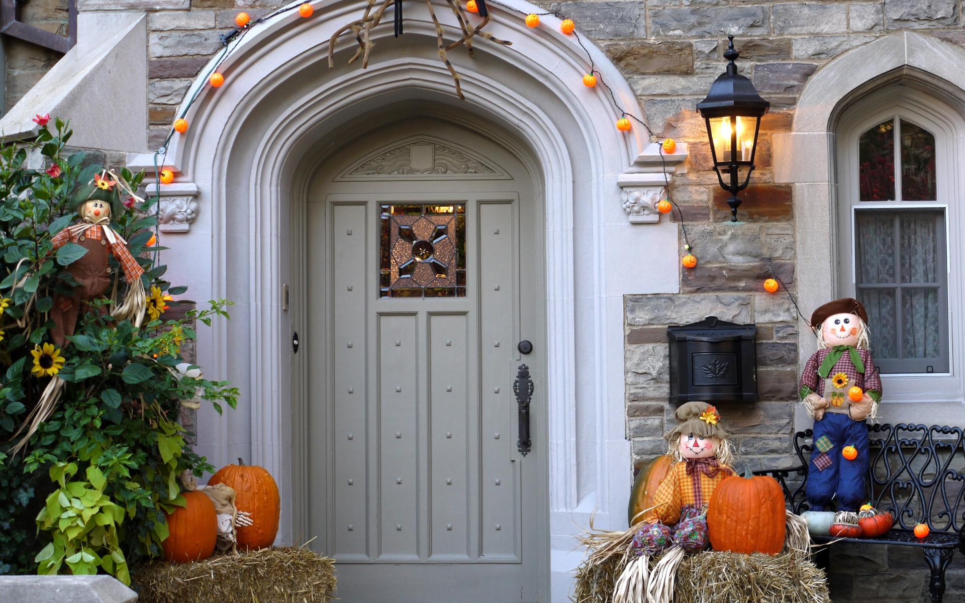 Decoración de casa halloween - 1920x1200