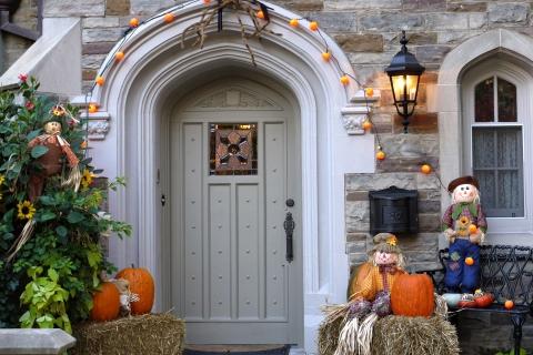 Decoración de casa halloween - 480x320