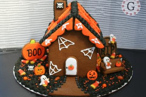 Decoración de torta por halloween - 480x320