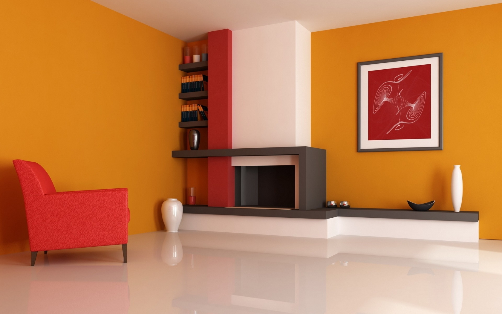 Decoración de una casa - 1680x1050