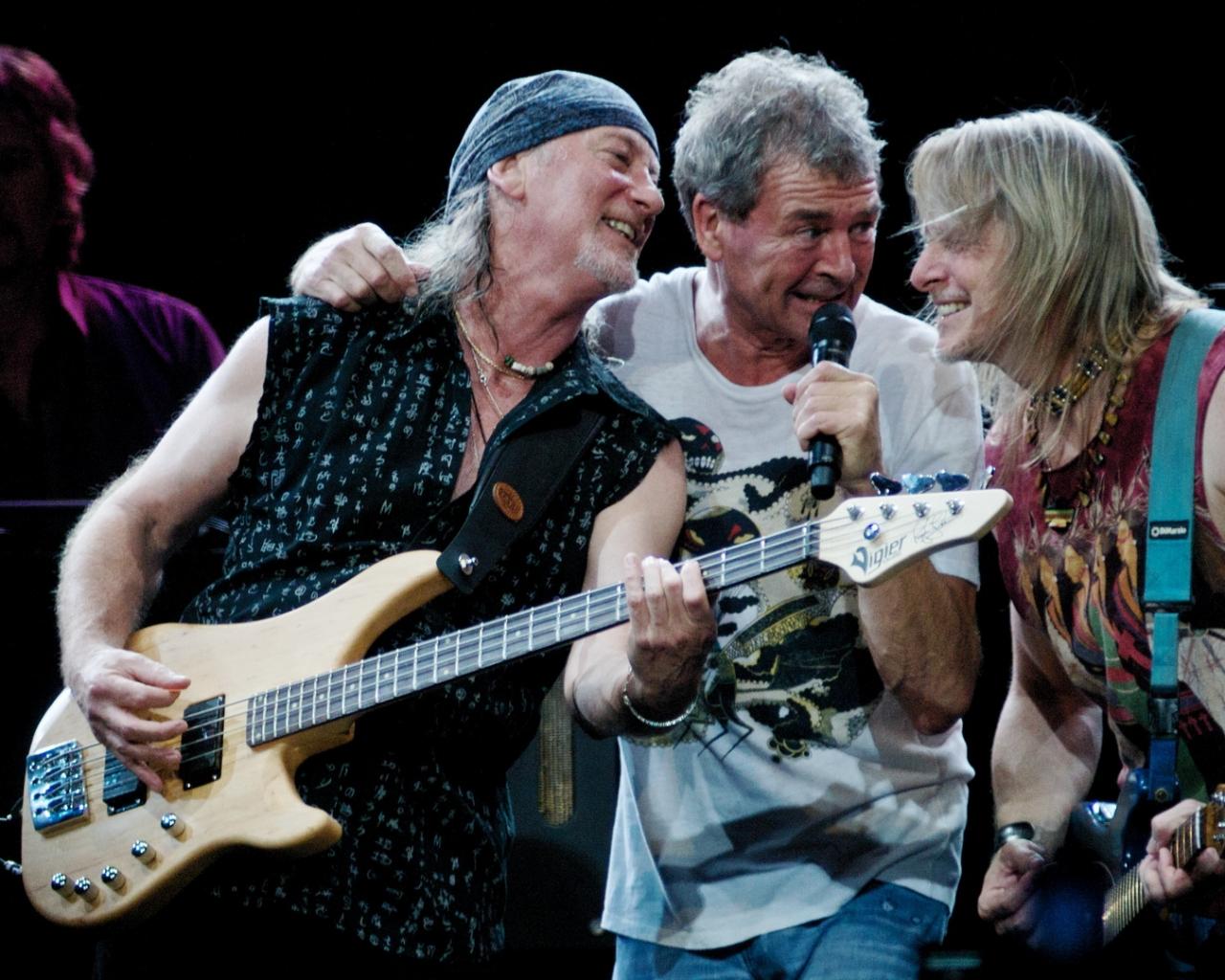 Deep Purple en concierto - 1280x1024