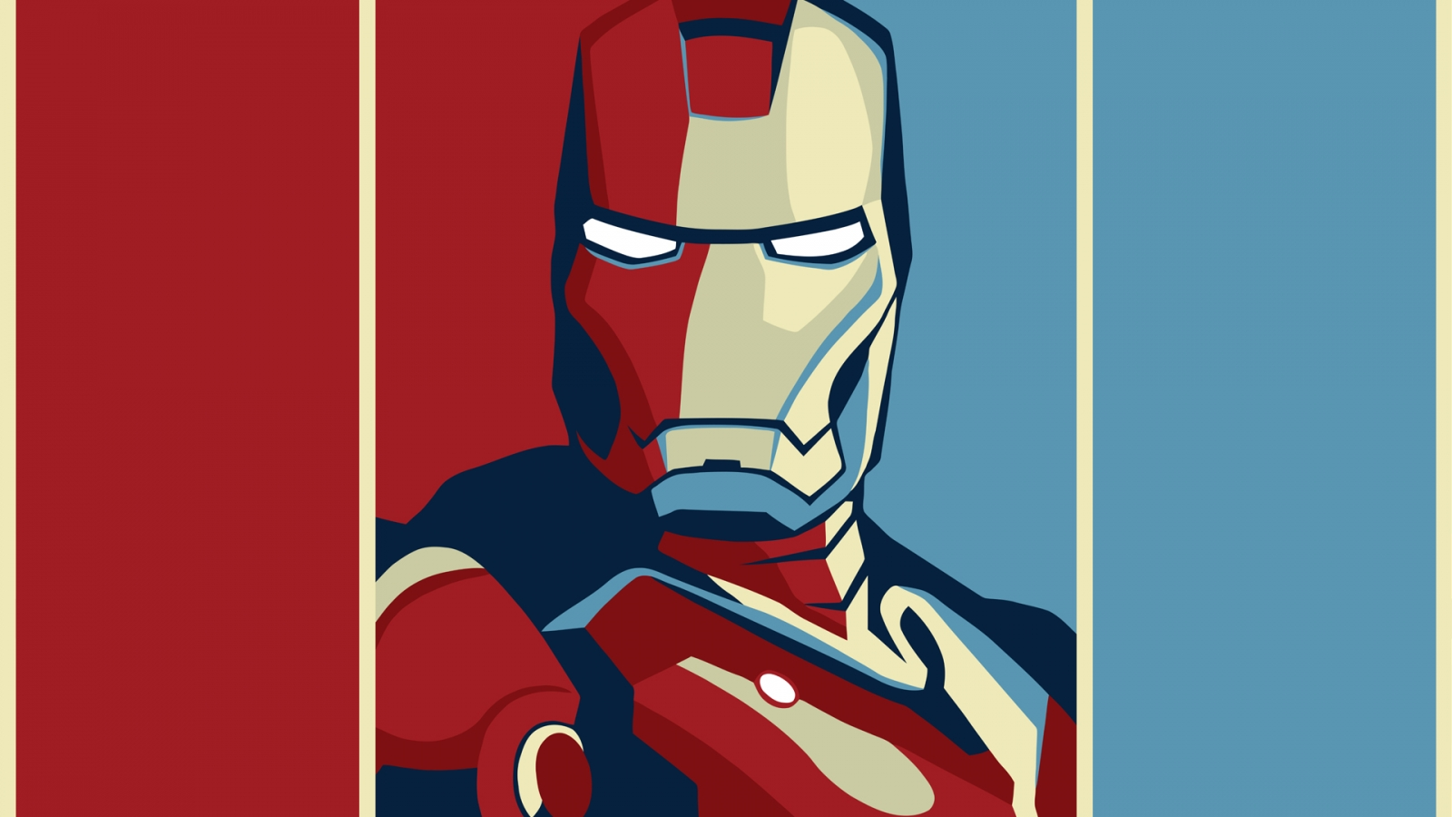 Dibujo de Iron Man - 1600x900