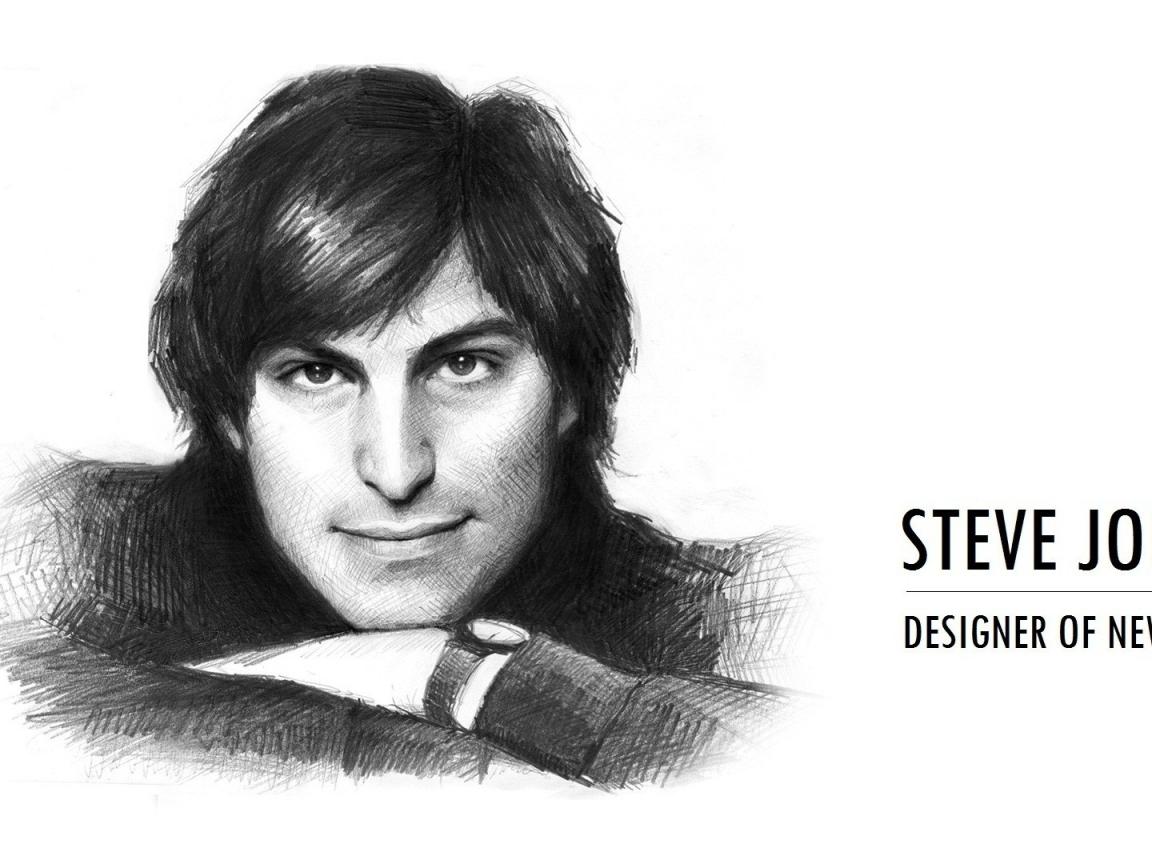 Dibujo de Steve Jobs - 1152x864
