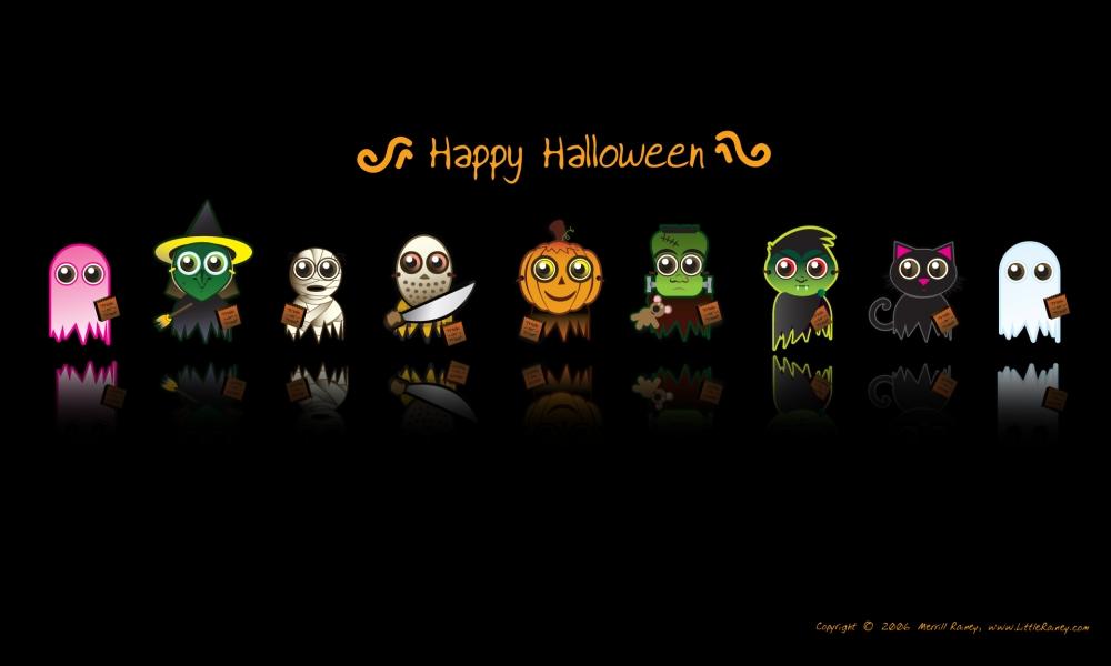 Dibujos de halloween - 1000x600