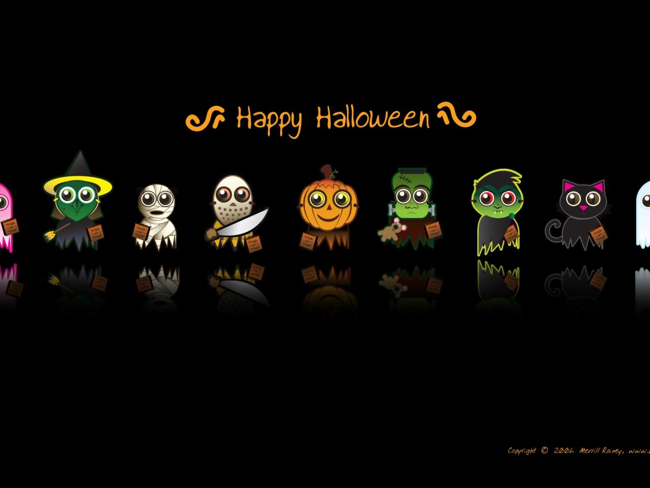 Dibujos de halloween - 1280x960