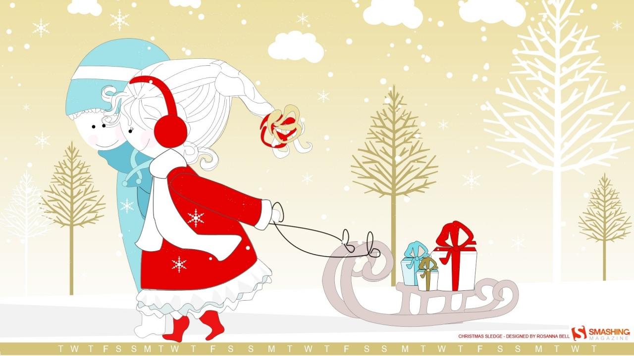 Dibujos navidad para niños - 1280x720