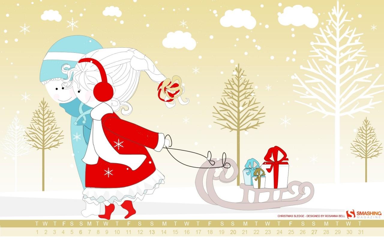 Dibujos navidad para niños - 1280x800
