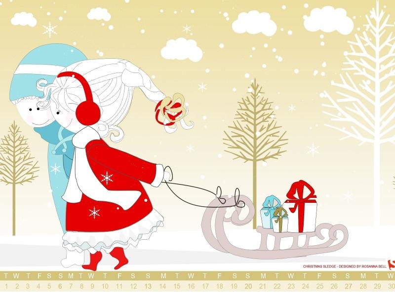 Dibujos navidad para niños - 800x600