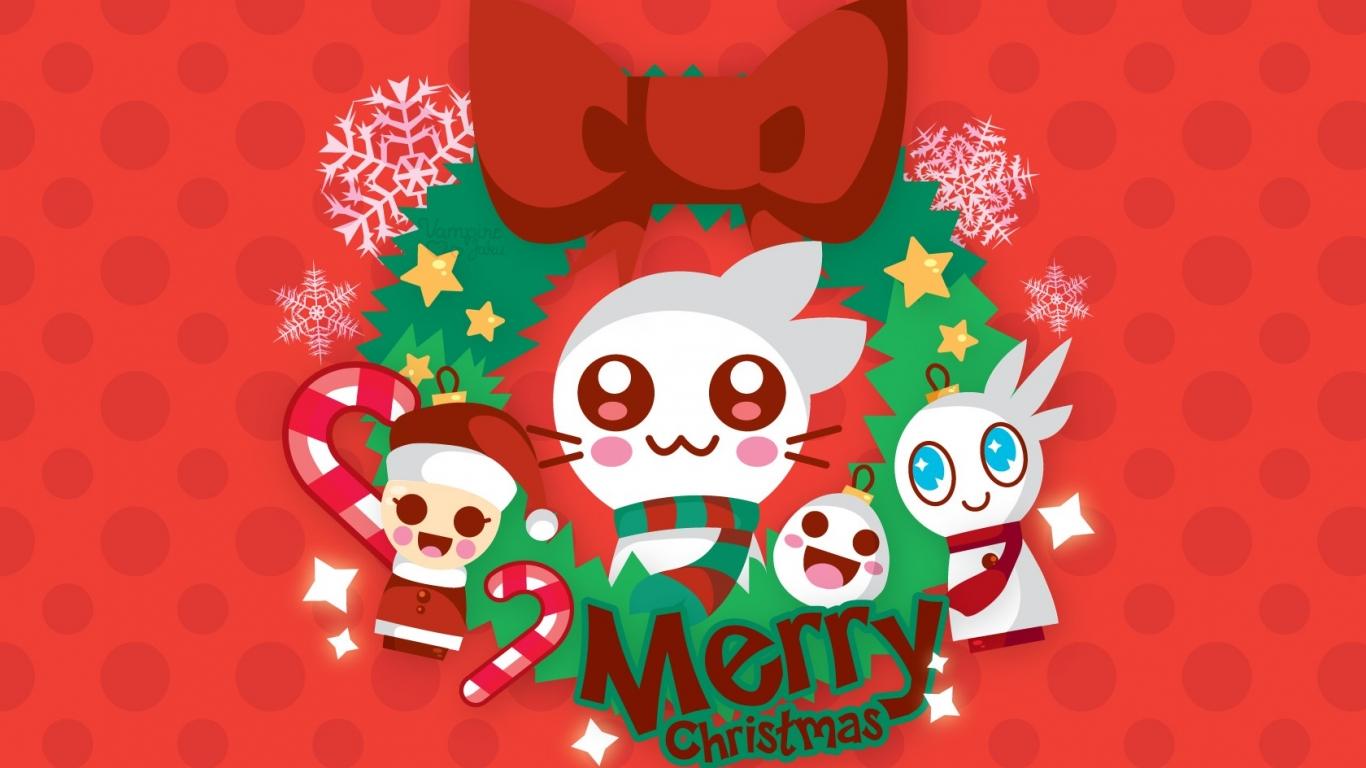 Dibujos para navidad - 1366x768
