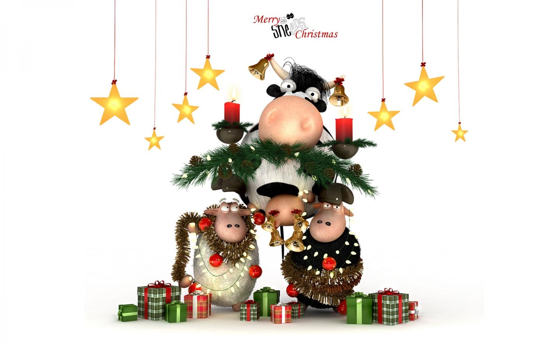 Dibujos por navidad - 1440x900