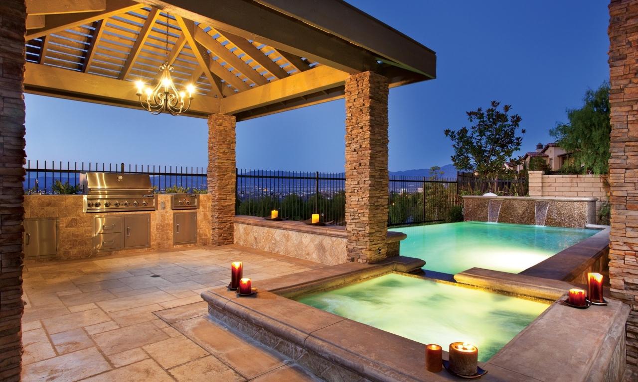 Diseño de una piscina - 1280x768