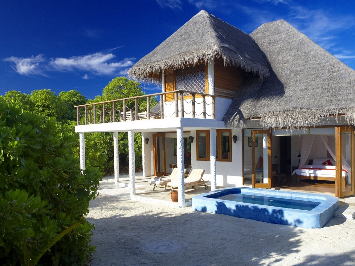 Diseño de casa de playa - 1152x864