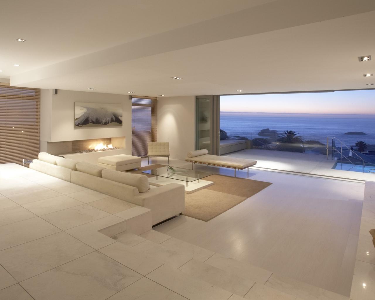 Diseño de una casa de Playa - 1280x1024