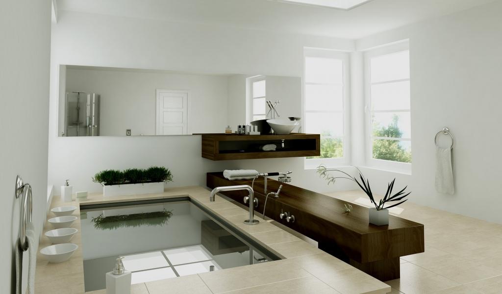Diseño interior de un baño - 1024x600
