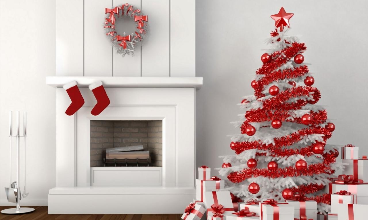 Diseño Sala 3D por navidad - 1280x768