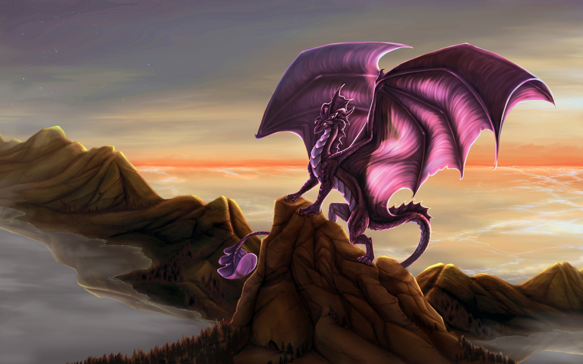 Dragones - 1920x1200