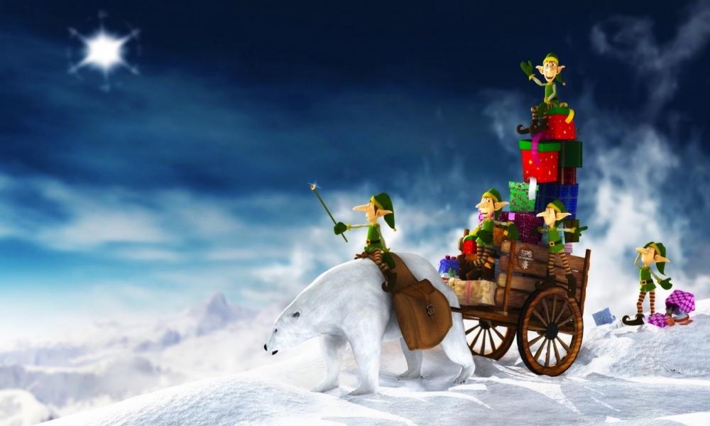 Duendes en navidad - 1000x600