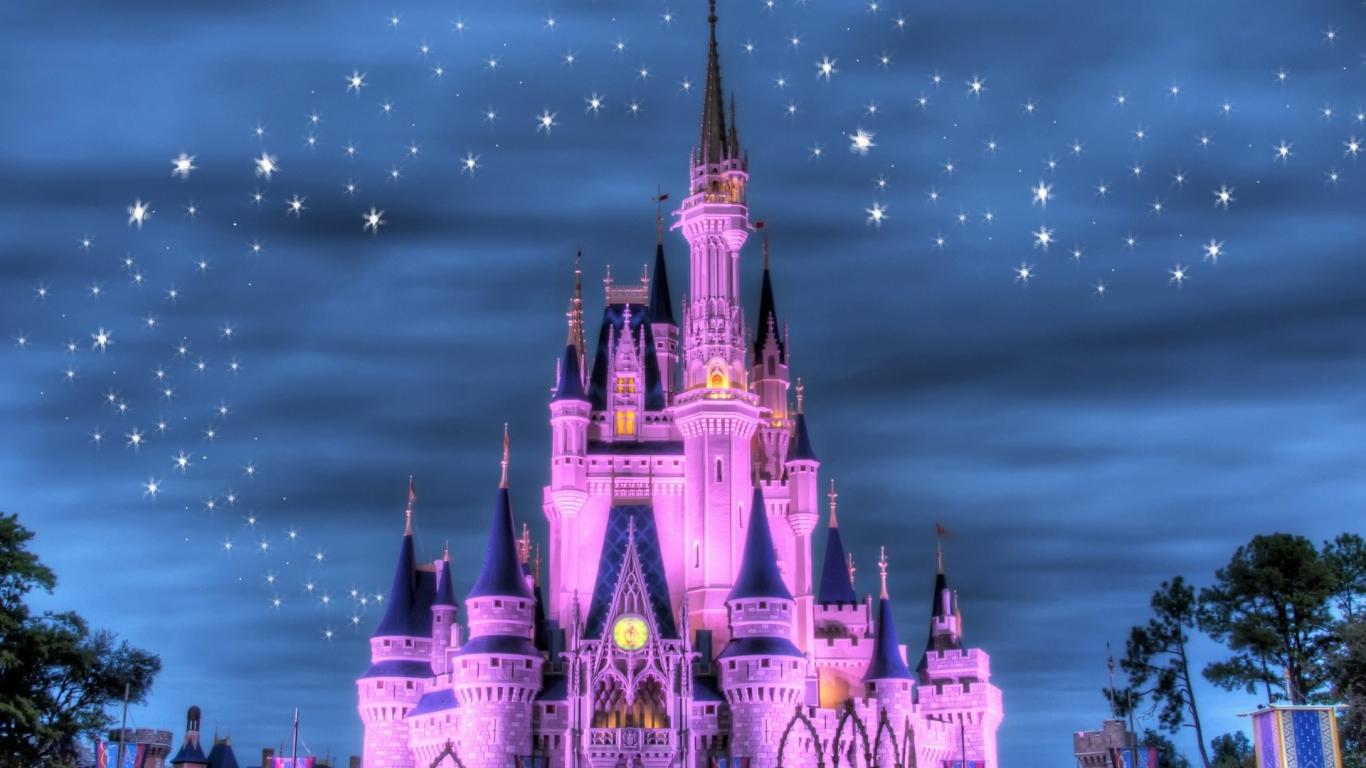 El Castillo De Disney   1366x768