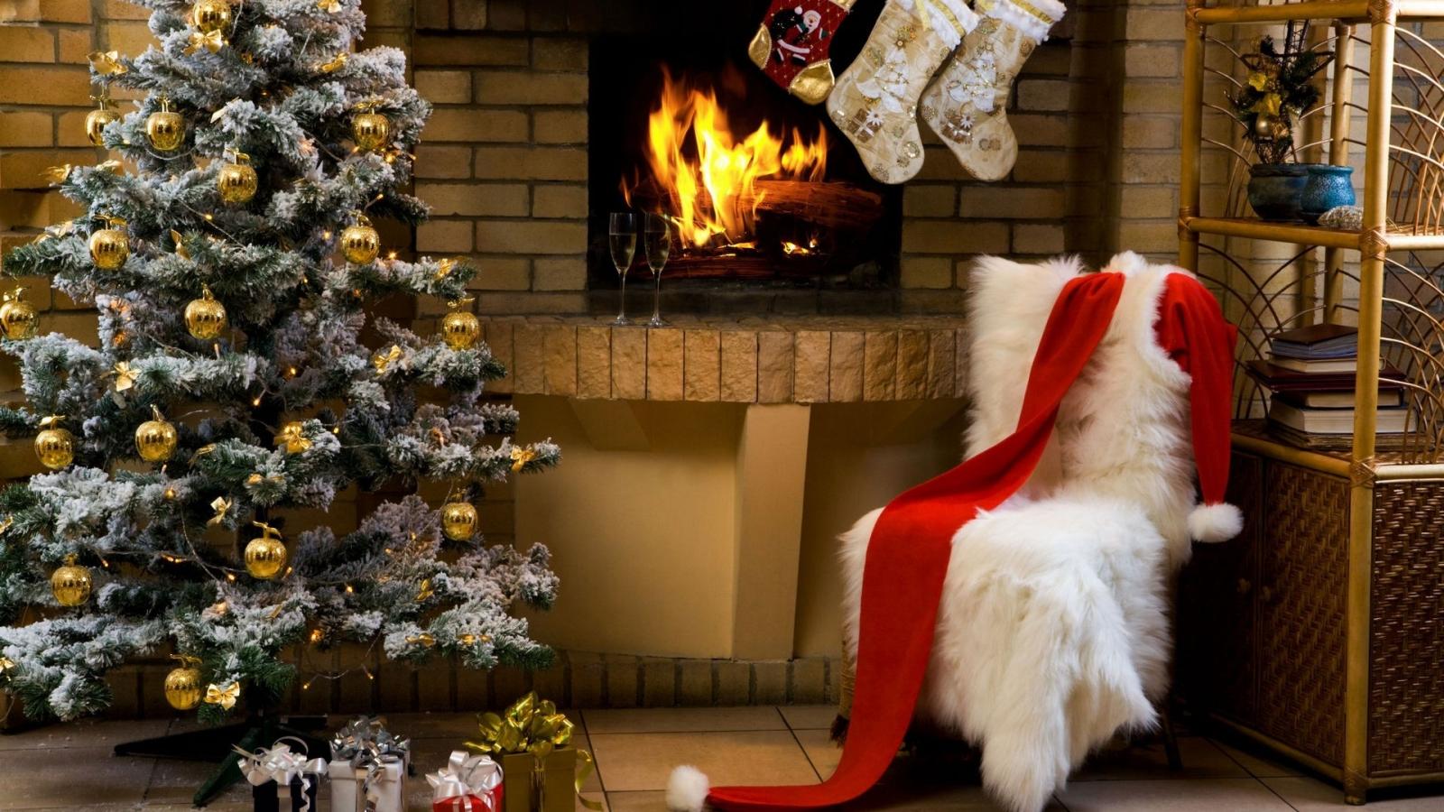 El disfraz de Papa Noel - 1600x900