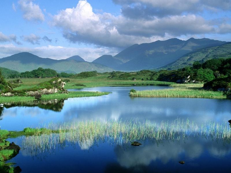 El lago azul - 800x600