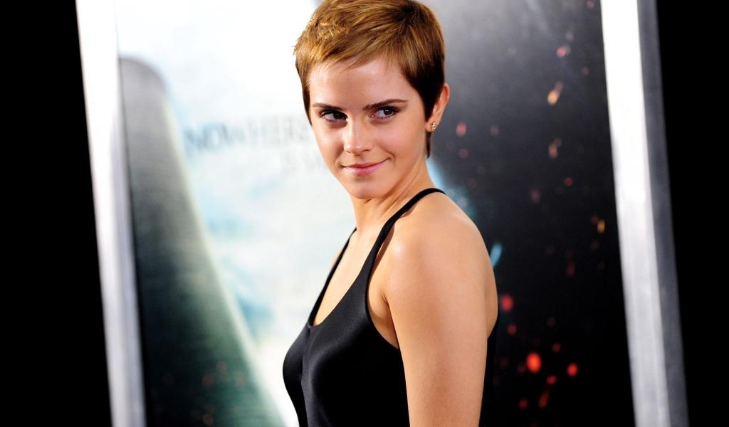 Emma Watson con cabello corto - 1024x600