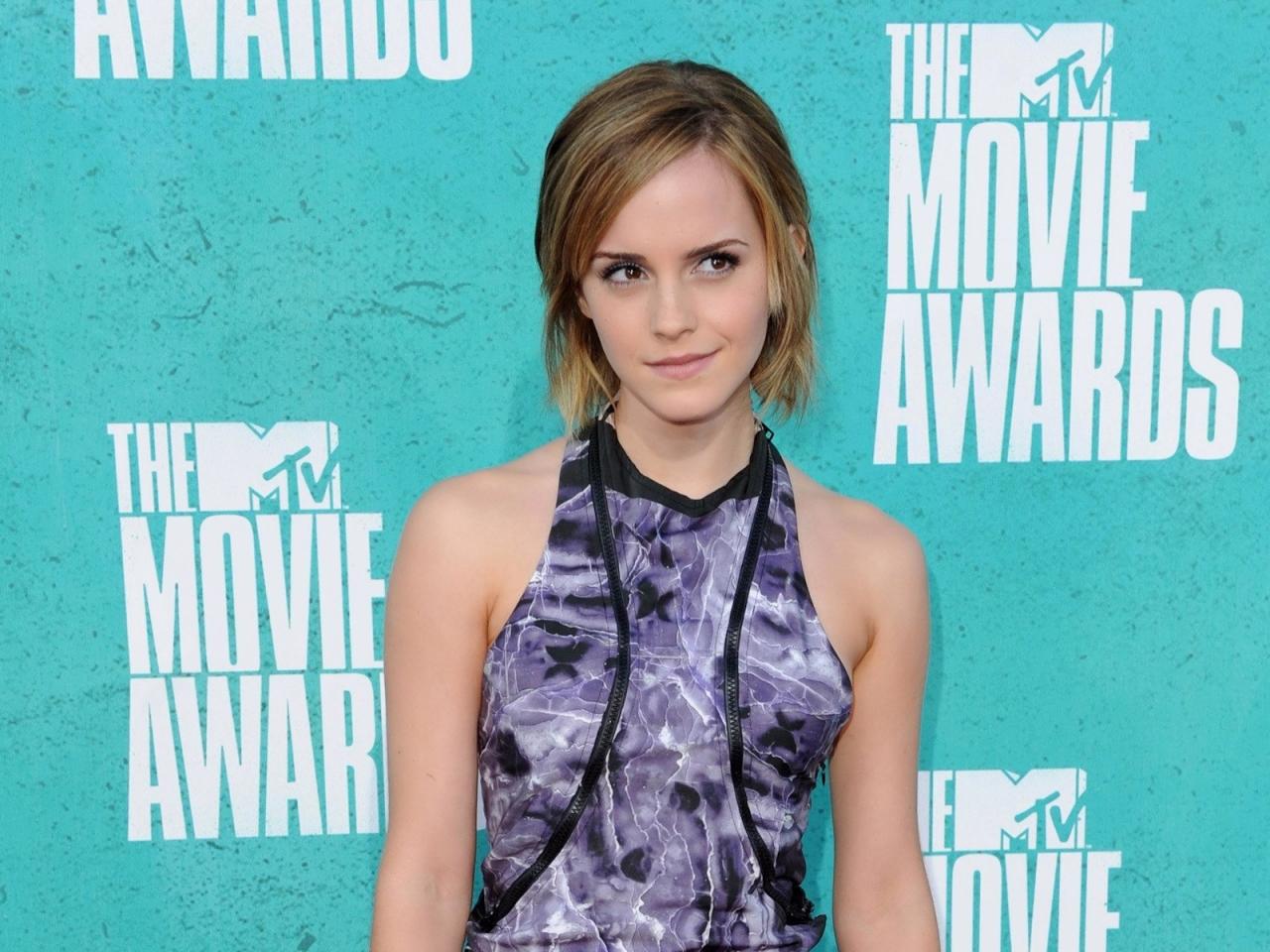 Emma Watson en la premiación - 1280x960