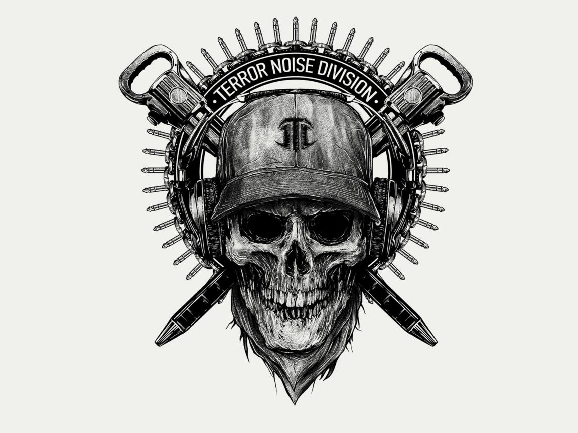 Escudo de calavera - 1152x864