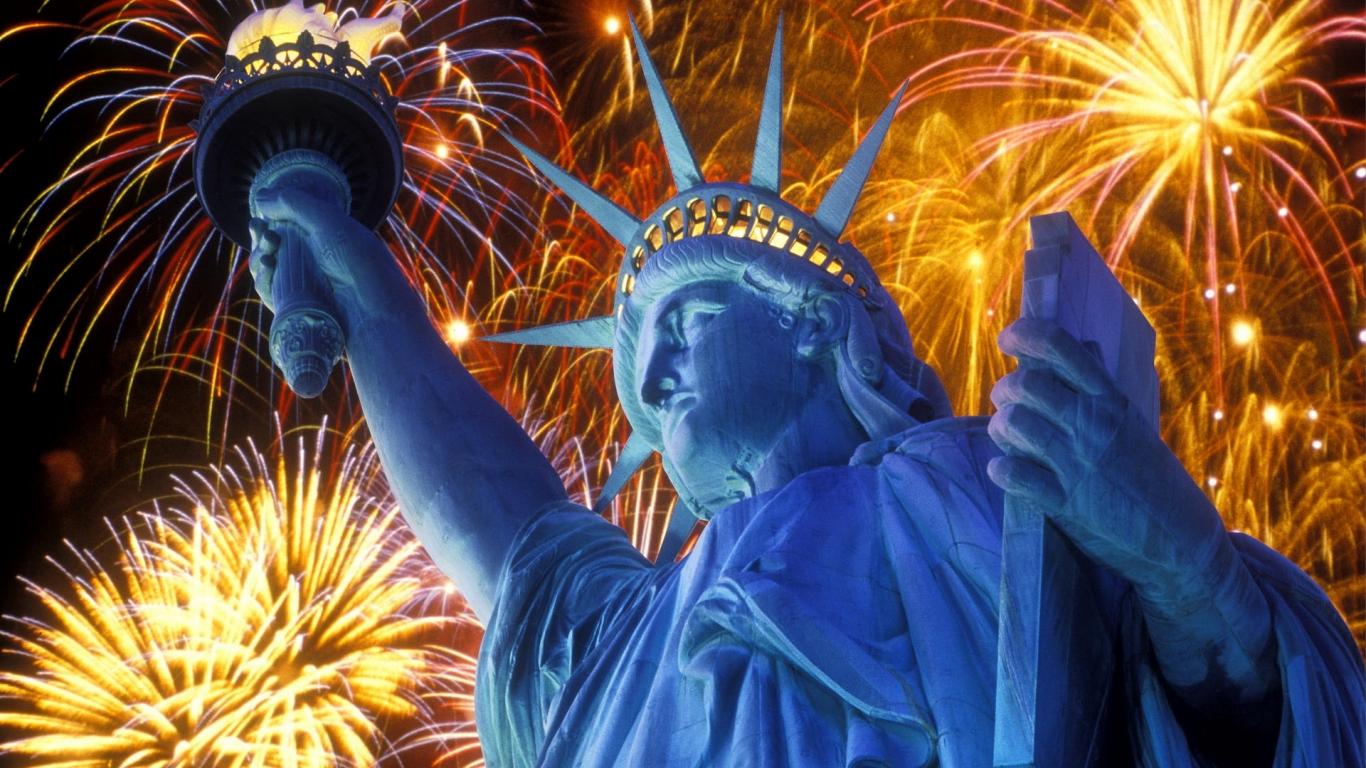 Estatua de la libertad - 1366x768